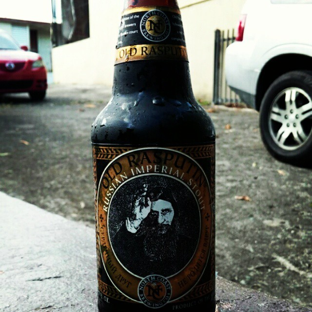 Old Rasputin de North Coast vía @cracker8110 en Instagram