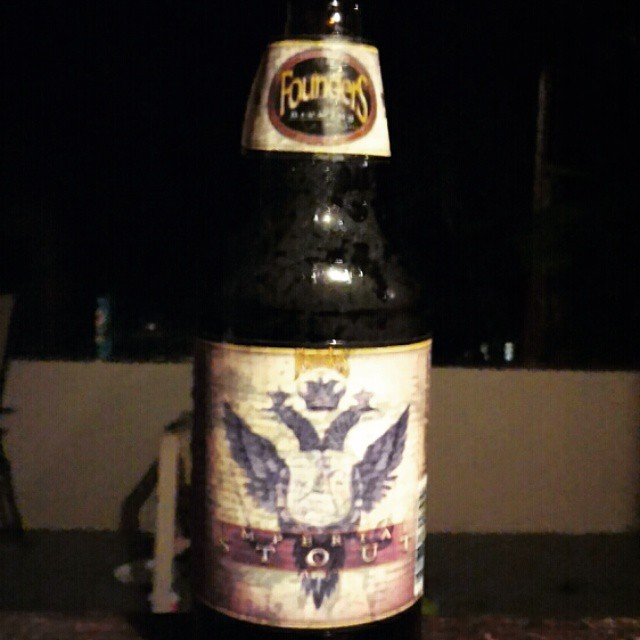 Founders Imperial Stout vía @cracker8110 en Instagram