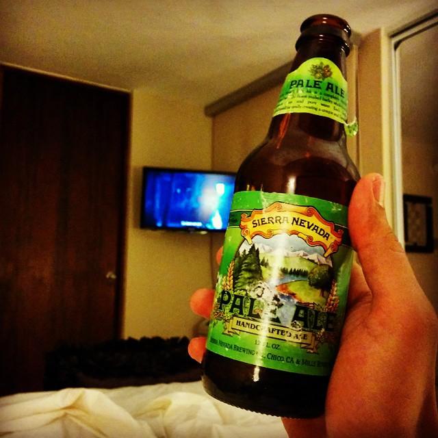 Sierra Nevada Pale Ale vía @elbroseph en Instagram