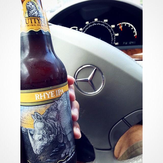 Smuttynose Rhye IPA vía @emekatreberesei vía Instagram