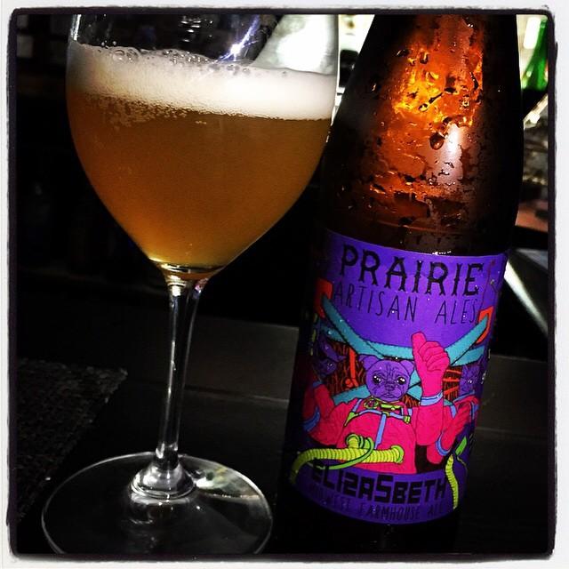 Prairie Elizabeth Saison vía @thecraftbeergal en Instagram