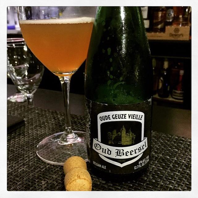 Oude Geuze Oud Beersel vía @thecraftbeergal en Instagram