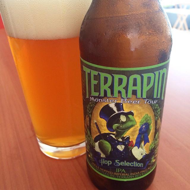Terrapin Hop Selection IPA vía @apaman8 en Instagram
