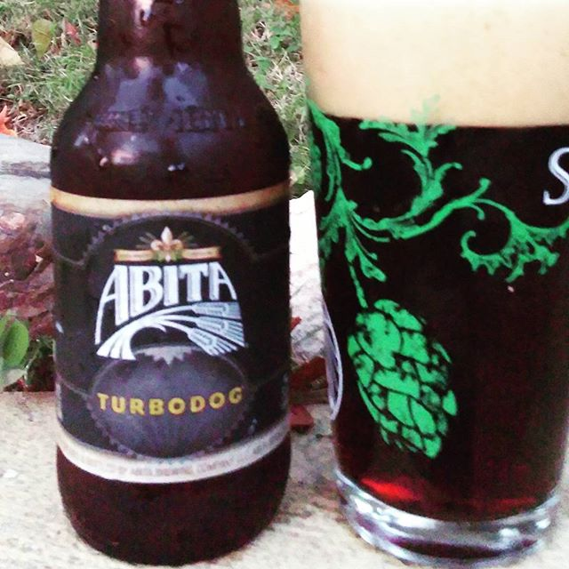 Abita Turbodog vía @cracker8110 en Instagram