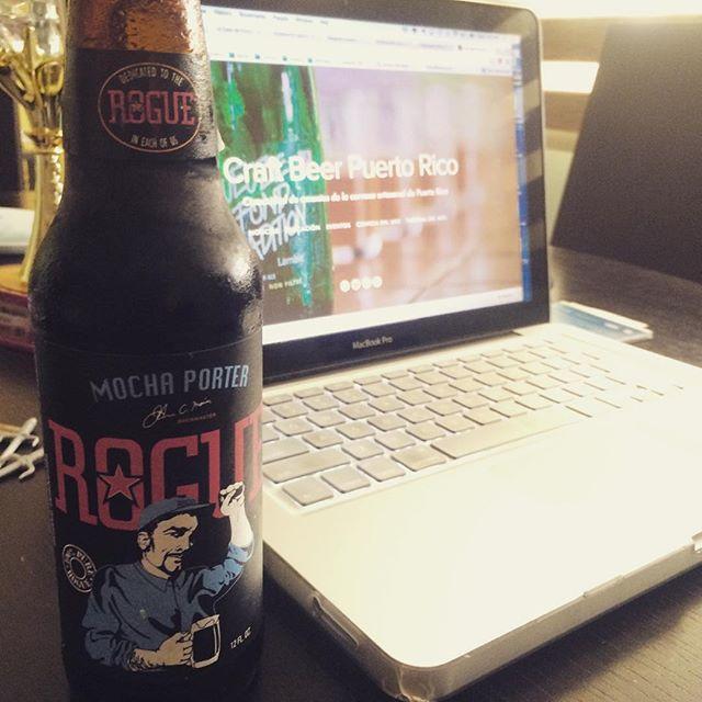 Rogue Mocha Porter vía @abdielopr11 en Instagram