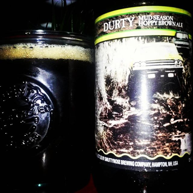 Smuttynose Durty Hoppy Brown Ale vía @valdorm en Instagram