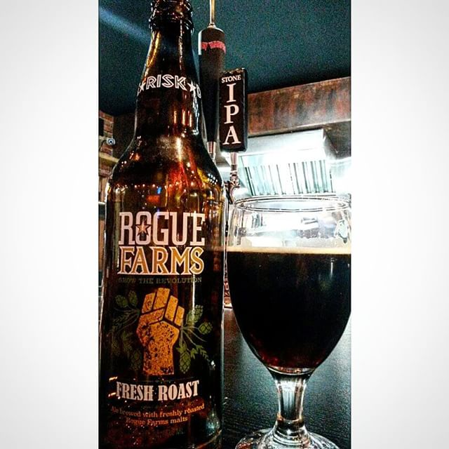 Rogue Fresh Roast Ale vía @valdorm en Instagram