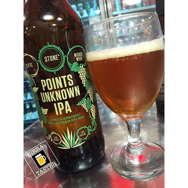 Stone Points Unknown IPA vía @birra_taster en Instagram