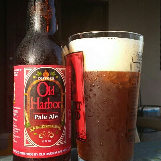 Old Harbor Pale Ale vía @cracker8110 en Instagram