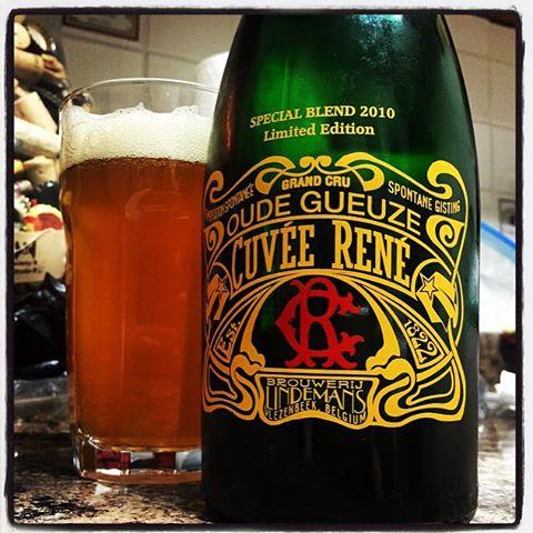 Oude Gueuze Cuvée René vía @thecraftbeergal en Instagram