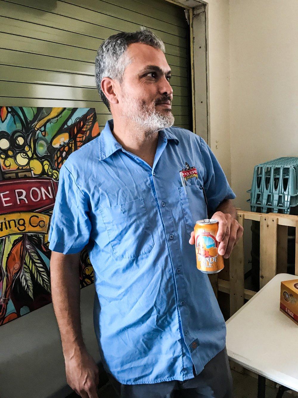Juan Carlos Torres, Fundador y Brewmaster de Boquerón Brewing