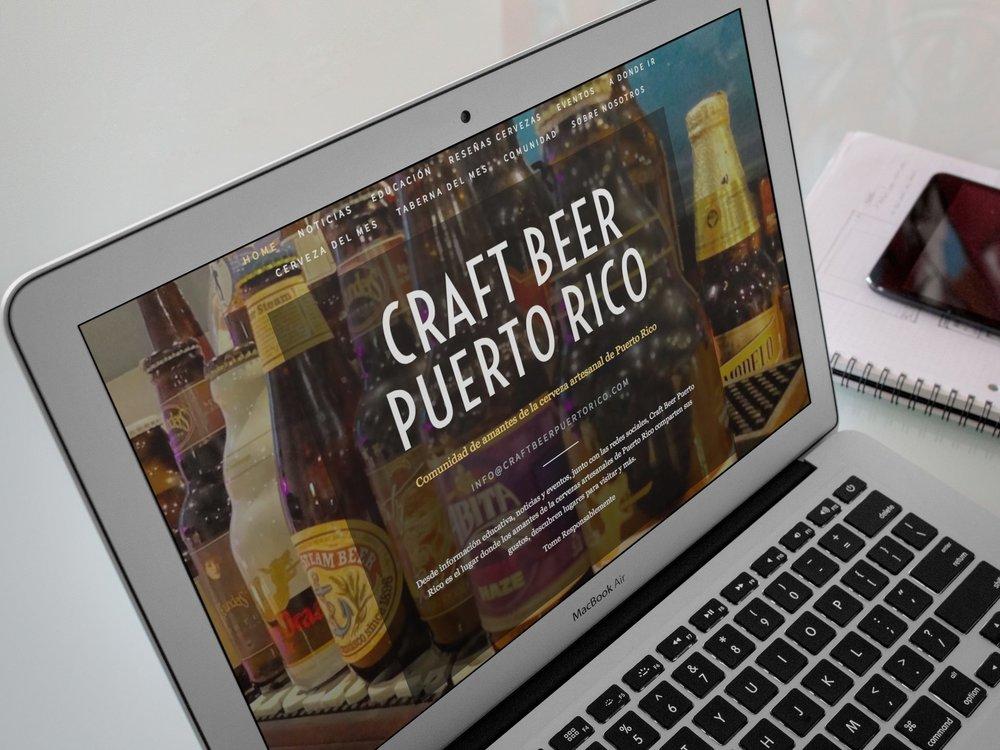 Primera versión de Craft Beer PR