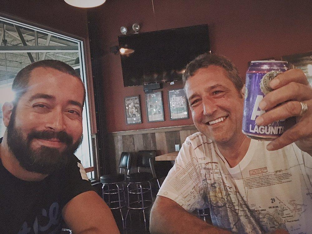 En Lagunitas (Chicago) con Robert Chamberlain, chef ejecutivo de Lagunitas, Chicago