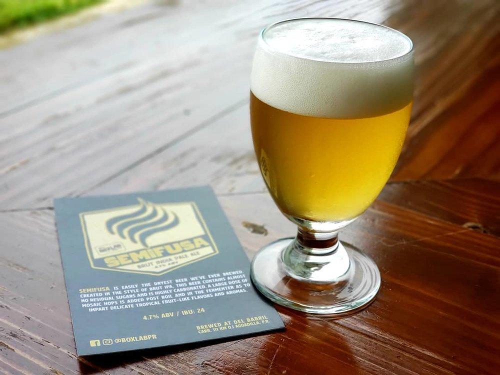 Semifusa de Boxlab - Foto: Boxlab Brewing