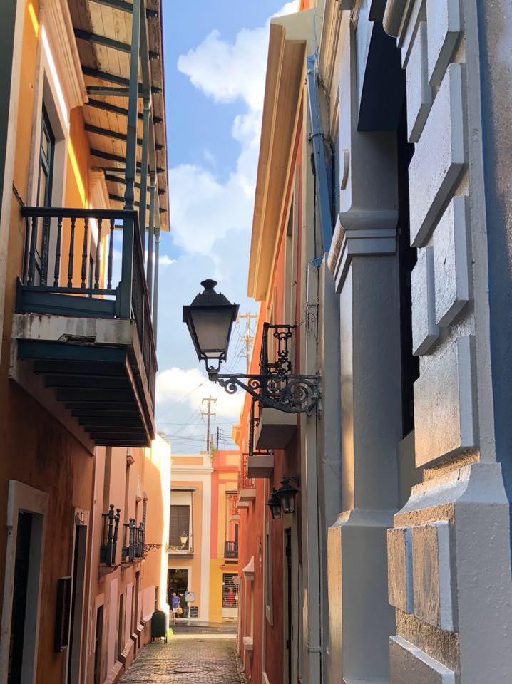 Callejón de la Capilla, Viejo San Juan