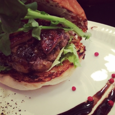 Monthly Burger - foie gras