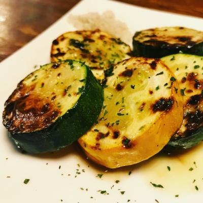 Grilled zuccini