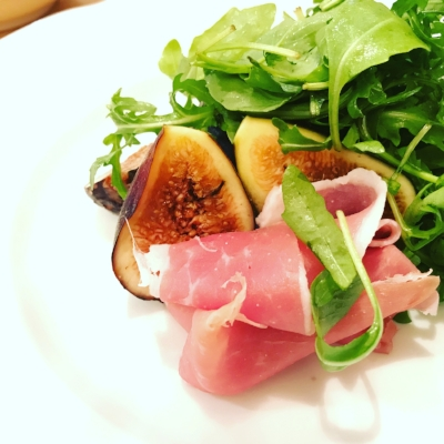 Fig and ham salad
