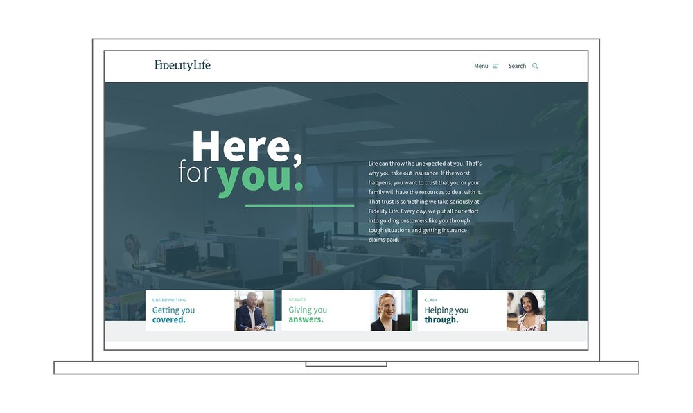 Fidelity Life - Website redesign