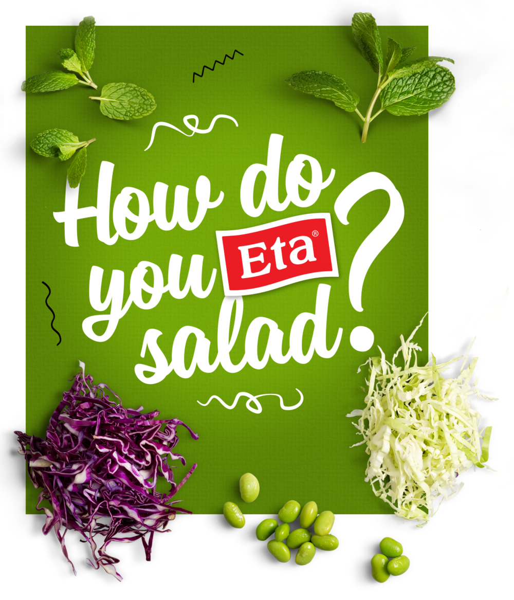 How do you Eta salad?  Promoting new products and recipes for Eta dressing's.  View project