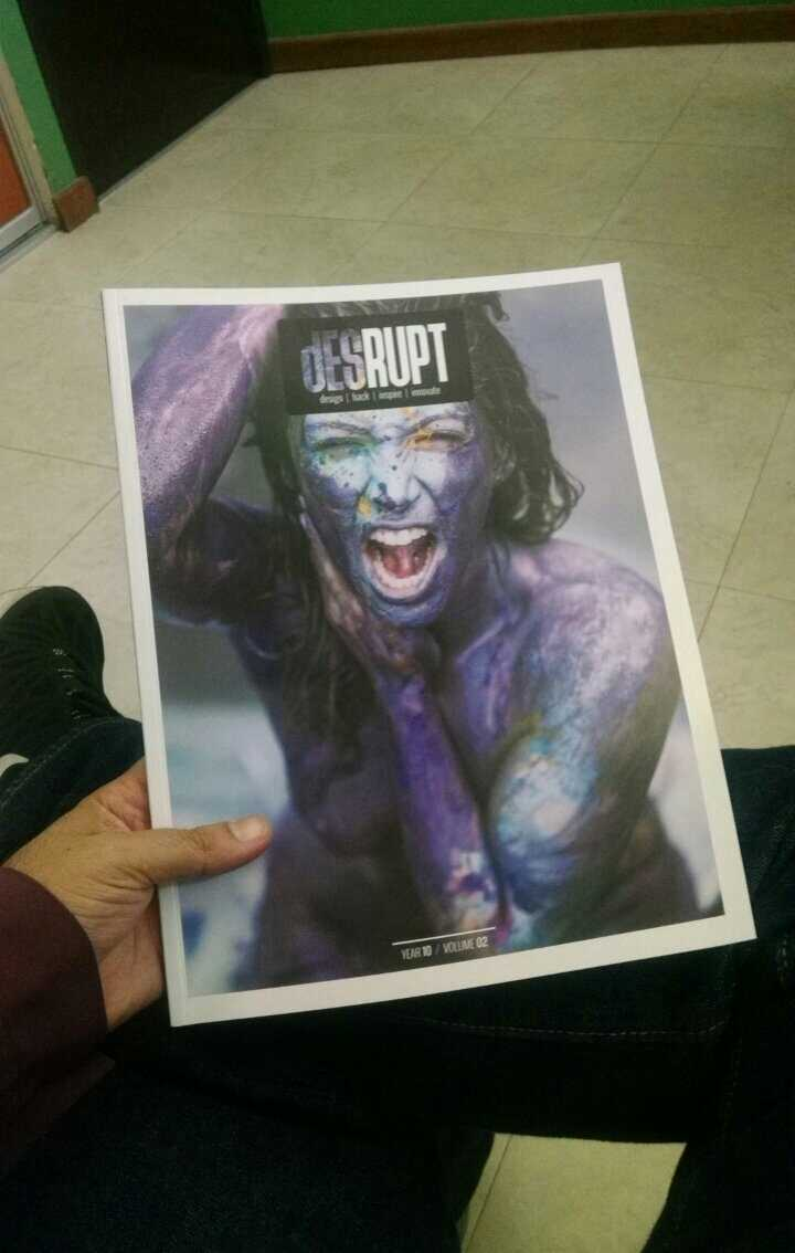 Desrupt Magazine cover