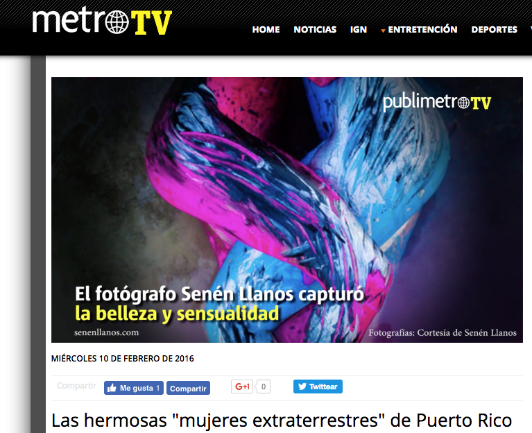 "Metro TV - video article ""Pretty Martian Women"""