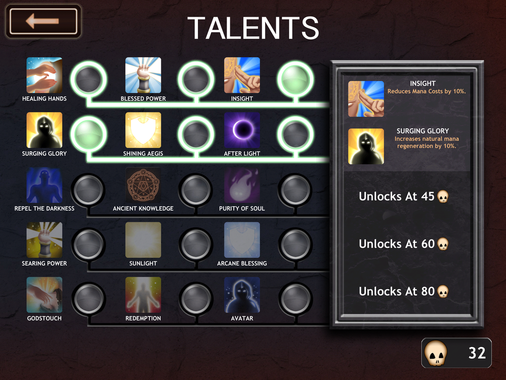 Some of these higher-level talents look pretty insane. Then again the enemies would be too.