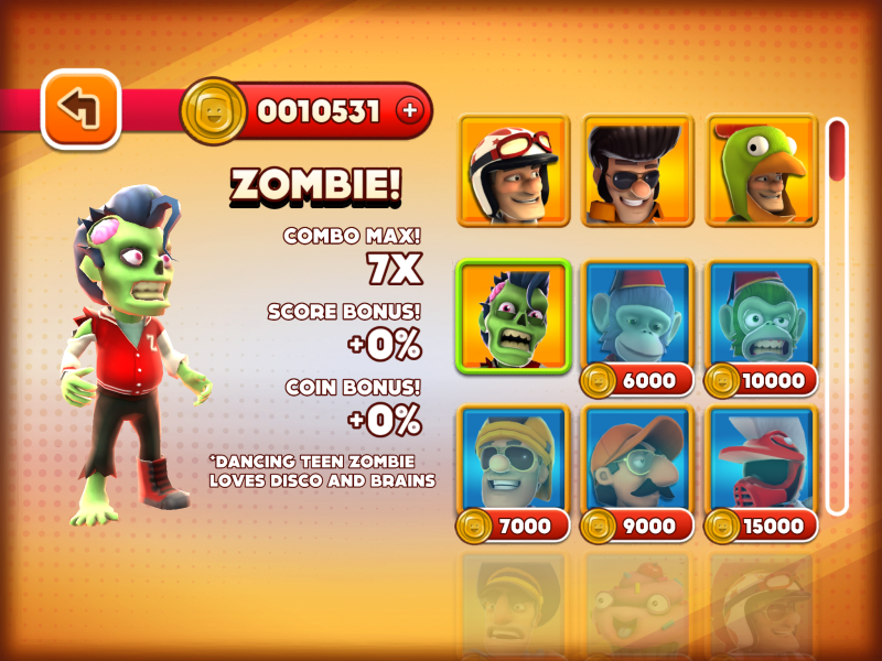 I don't want to use a zombie if I don't get anything for it.