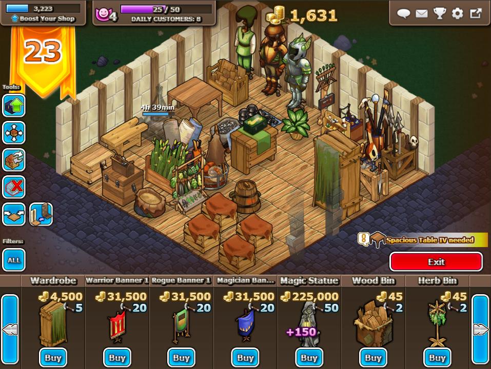 Shop builder!