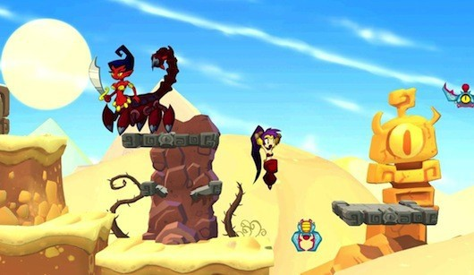 On the other hand, we're going to see lots more weirdly sexualized Shantae games. On the bright side, we're going to see lots more more weirdly sexualized Shantae games!