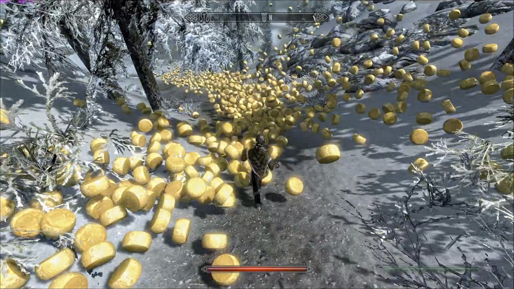 Not a mod; actually just part of Skyrim's fabled Valley of Alpine cheeses.