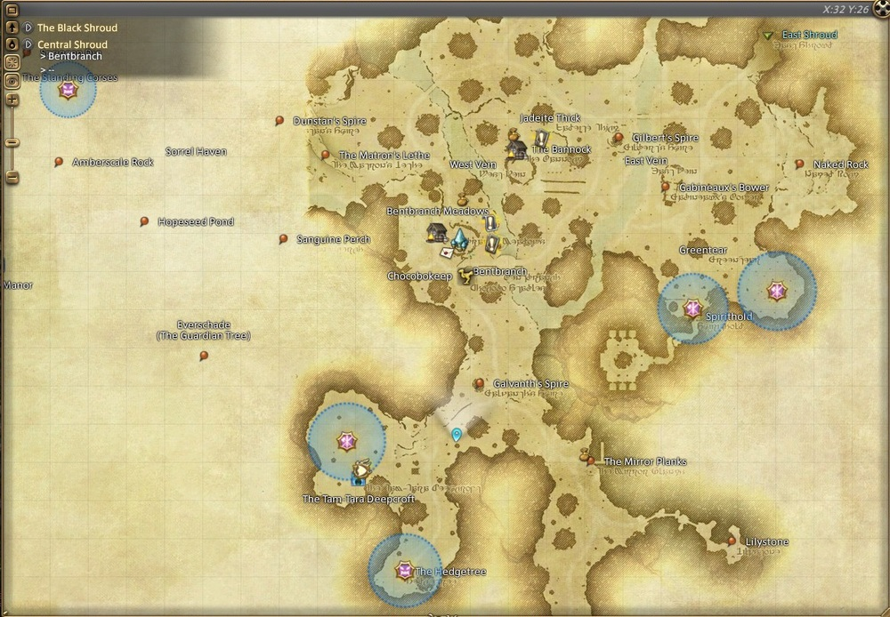All of your favorite final fantasy locations