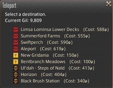 These are not crazy sums, but you don't get money very fast in FF14