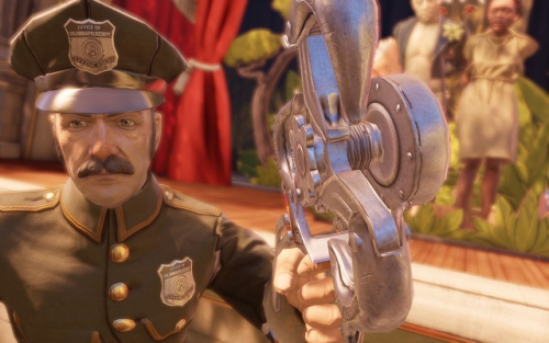Bioshock Infinite, developed by Irrational Games and published by 2K Games, only really gives you a choice of how you will murder all opposition.  Was this a natural evolution of how the game should play or did it undermine everything else the game got right?