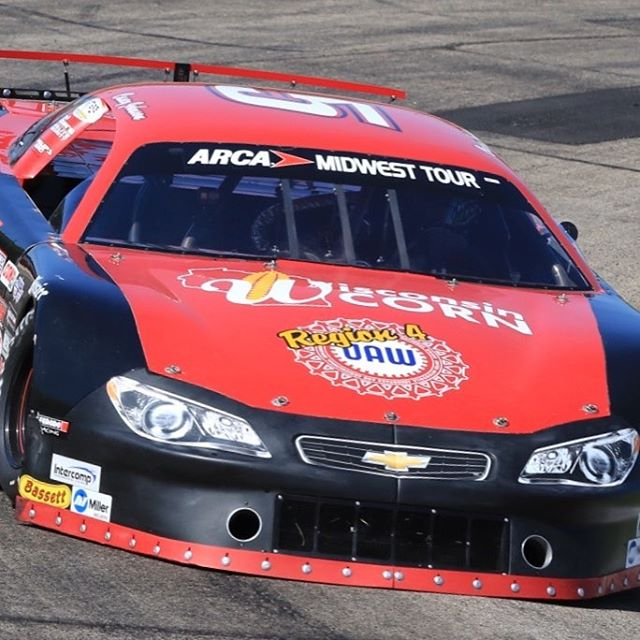 Casey Johnson returns home to Jefferson Speedway tonight in the ARCA Midwest Tour Salute the Troops 100!