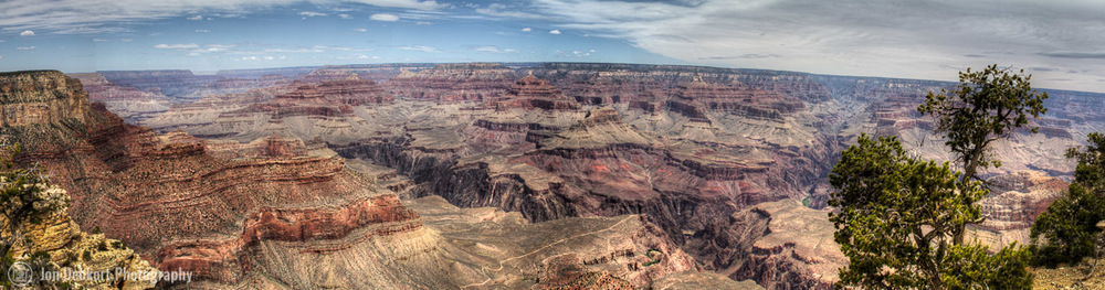 HDR Panaroma of South Rim (click on photo for larger view)