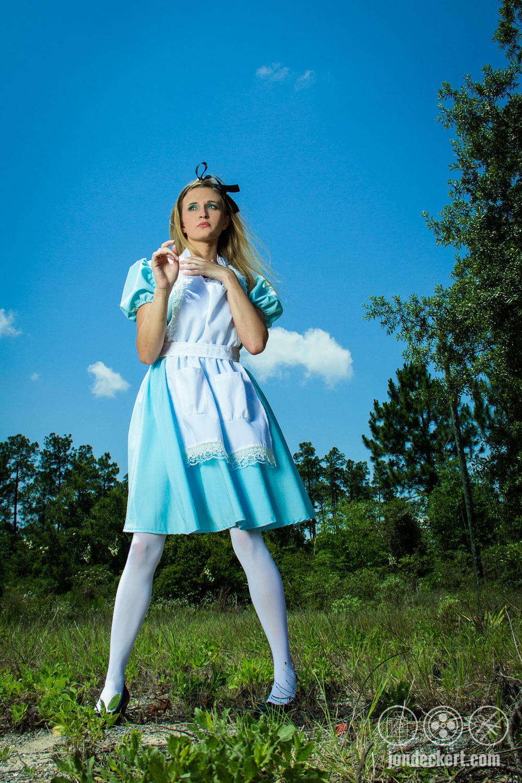 Model / Actress Allison Cain as Alice