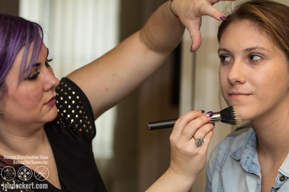 Behind the Scenes Fashion Photography of Horizon Stars Fashion Show in Destin, Florida