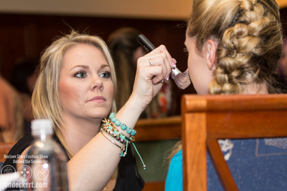 Behind the Scenes Fashion Photography of Horizon Stars Fashion Show in Destin, Florida