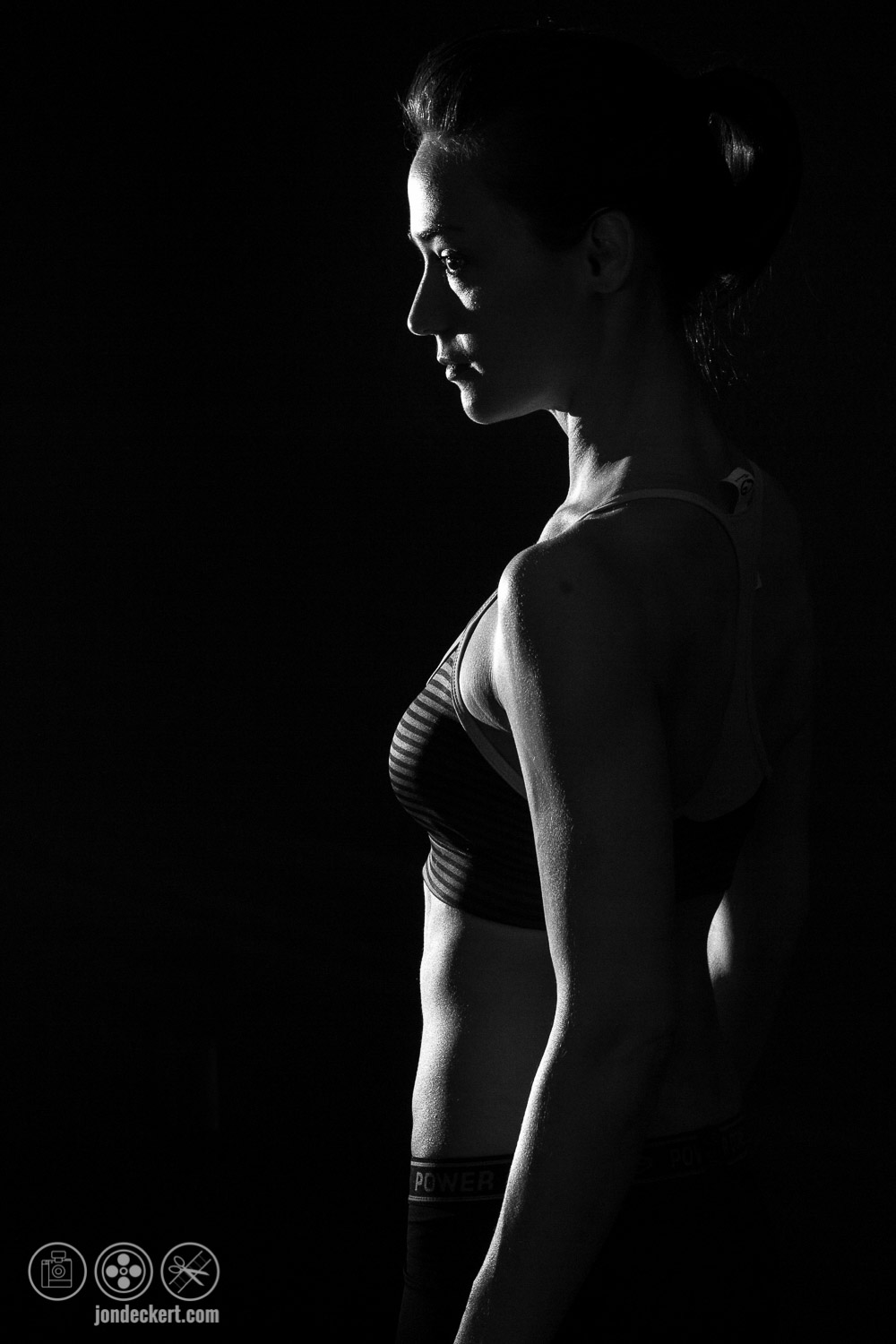 Dawn Hamil Cross Fit Fitness Portrait Photograph