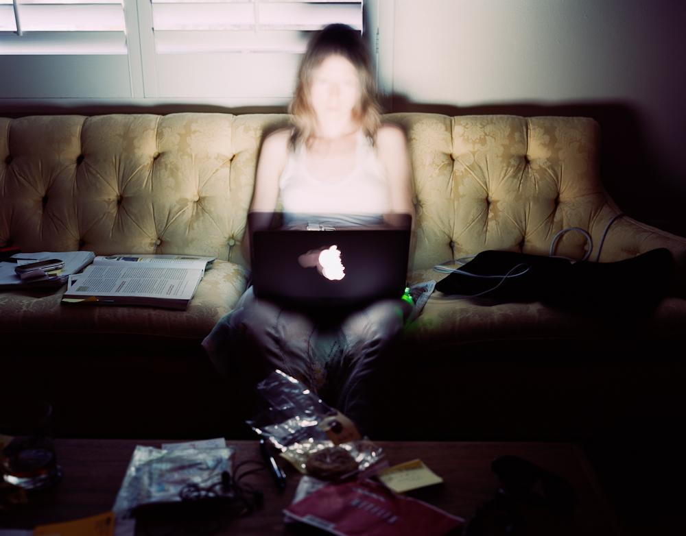 Jen, Computer, Phoenix, Arizona, 2010