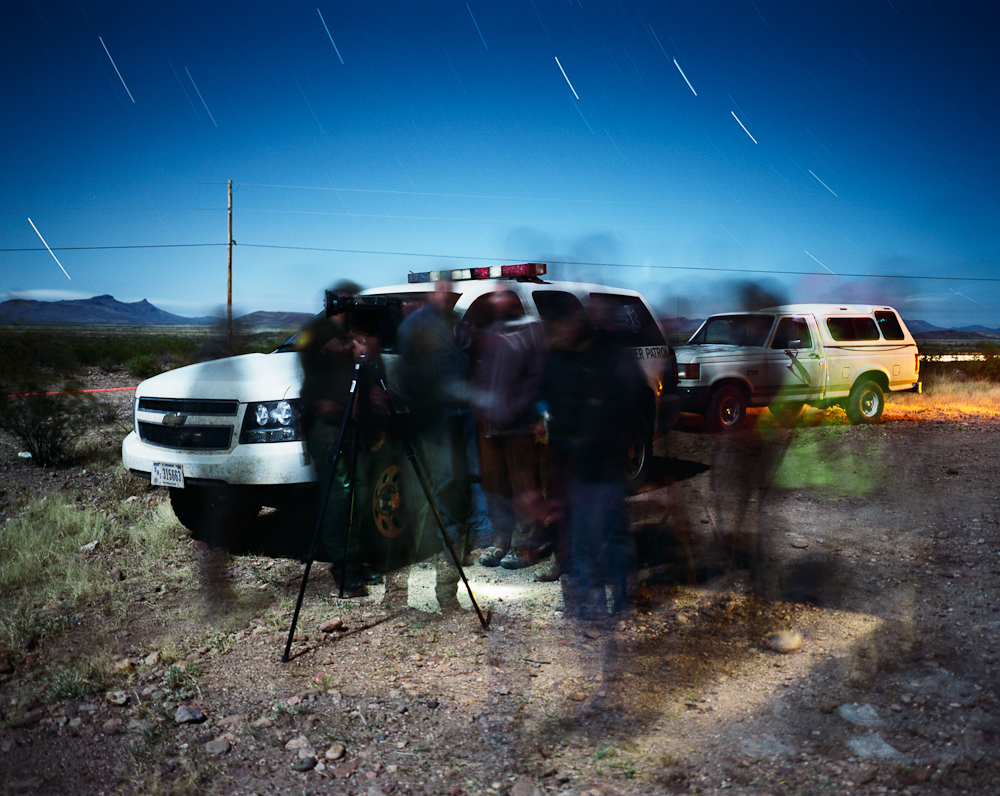 Night Operations, Border Patrol, Lordsburg Sector, Near Douglas, Arizona, 2011