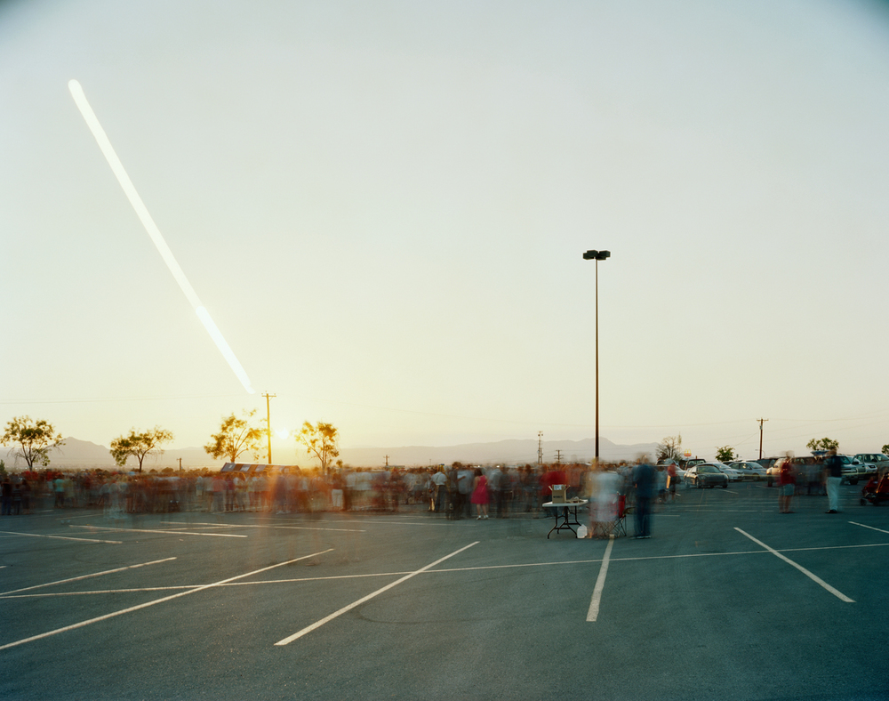 Annular Solar Eclipse, Mesilla Valley Mall Parking Lot, Las Cruces, New Mexico