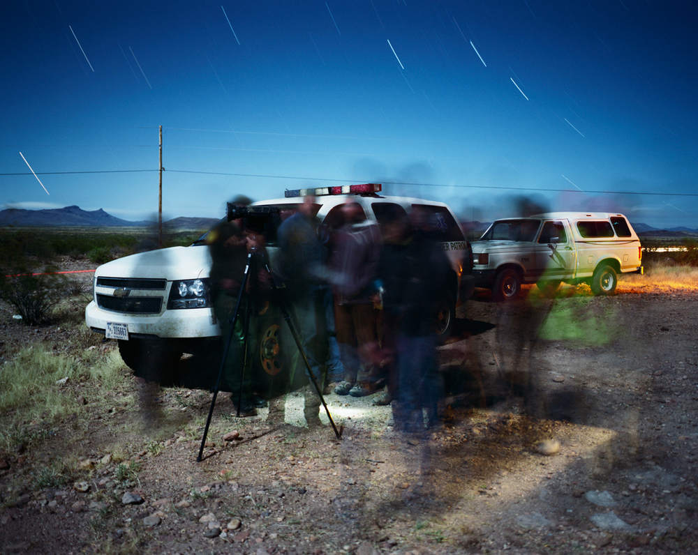 Night Operations, Border Patrol, Lordsburg Sector, Near Douglas, Arizona