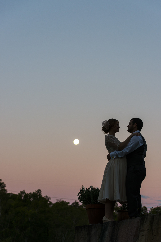 moonrise wedding     brisbane wedding photography     fuschia photography