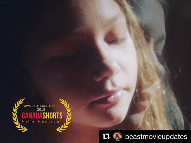 #Repost @beastmovieupdates ・・・ ✨Beast is an Official Selection and Award of Excellence recipient at the Canada Shorts Film Festival! 📽Also selected to play at the Denver Underground Film Festival December 13th! 🕷🕸 #shortfilm #canadashortsfilmfestival #stopmotion #fairytale #filmmaking
