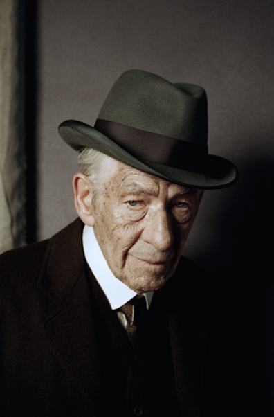 "Ian McKellen as ""Mr. Holmes"""