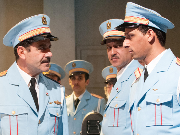Tony Shalhoub in  The Band's Visit