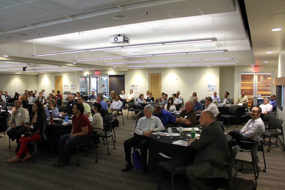 Image from SDGBC's 2013 Net Zero Energy + Water conference at the Energy Innovation Center
