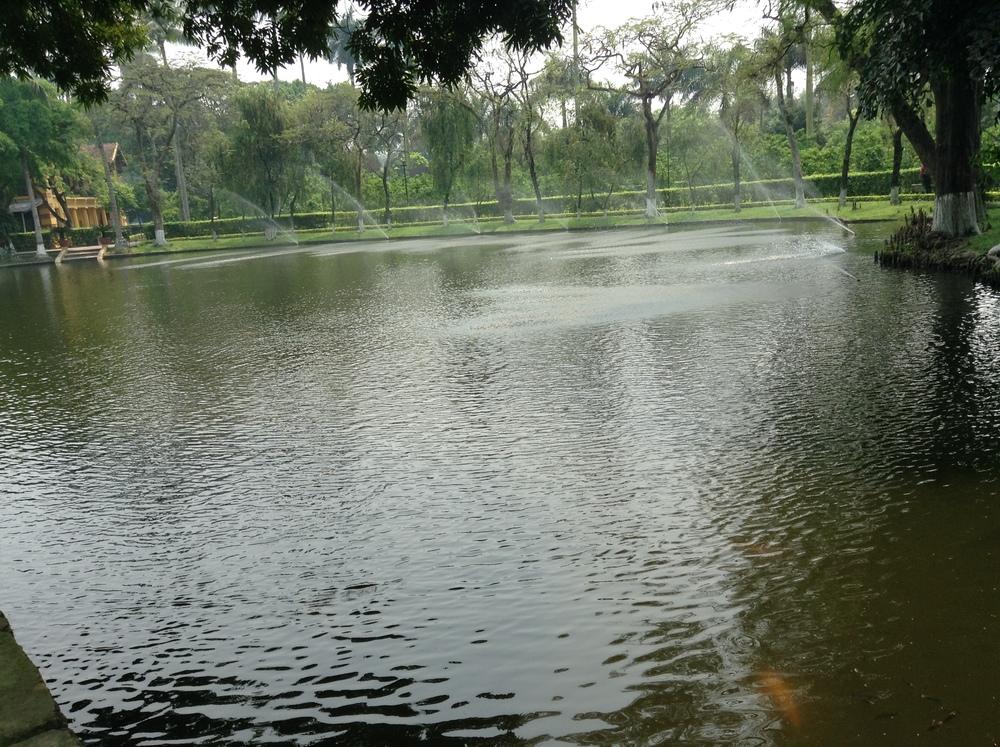 the West Lake, Hanoi